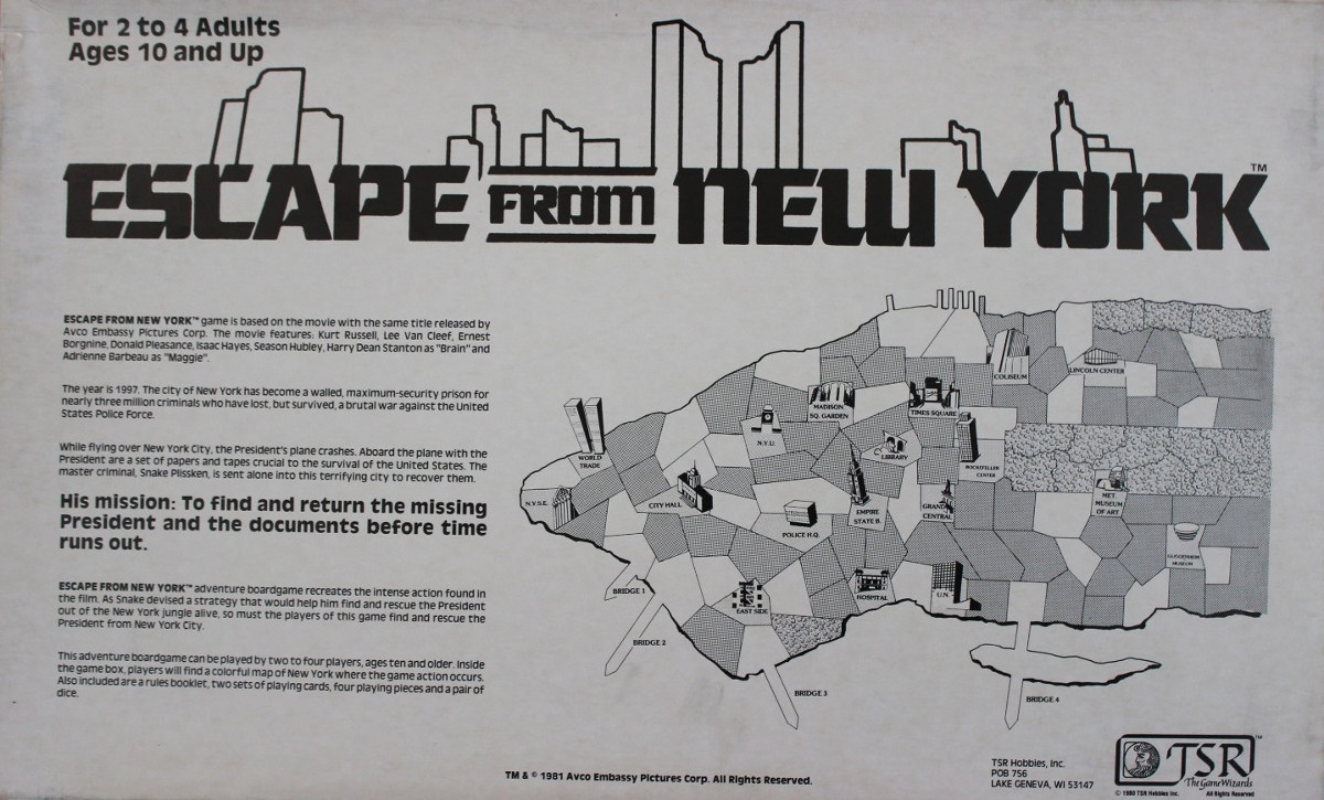 The Escape From New York & L.A. Page - A Tribute to Snake ...