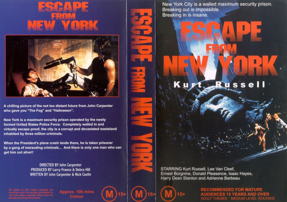 an analysis of the opening sequence of john carpenters escape from new york One thing john carpenter does so terrifically is immerse you into the darkest of atmospheres next up is on set with john carpenter: the images of escape from new york an interview with actor joe unger who played snake's co-hort in the un-used opening sequence.